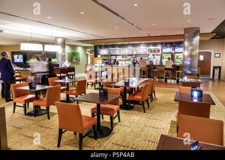 Stuart Floride Courtyard by Marriott Stuart hotel motel restaurant lobby bar intérieur réduite Banque D'Images