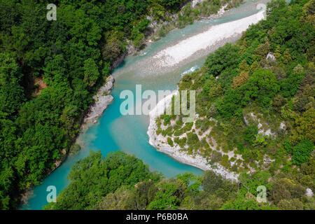 France, Provence Alpes Cote d'Azur, Provence, Var (83), Aiguines, Gorges du Verdon Banque D'Images
