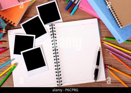 5b7a232329864d ... polaroid images · College student 24 avec l album photo vierge et plusieurs  style d impression photo