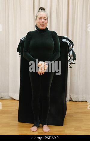 New York, NY, USA. 29 Juin, 2018. Floriana Frassetto présents pour MUMMENSCHANZ Debut nouveau spectacle 'toi et moi', Pearl Studios, New York, NY Le 29 juin 2018. Crédit: Jason Smith/Everett Collection/Alamy Live News