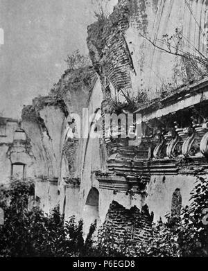 Español: Ruinas de la Iglesia de la Concepción en Antigua Guatemala en 1897. 189711 Concepcion1897