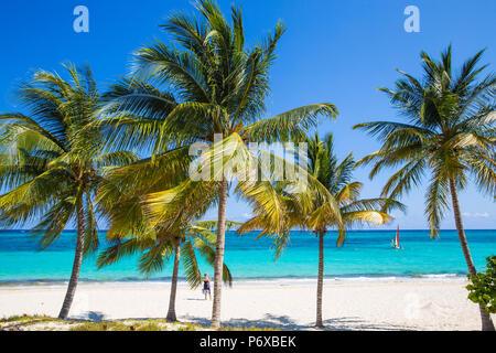 Cuba, Holguín, Playa Esmeralda Banque D'Images
