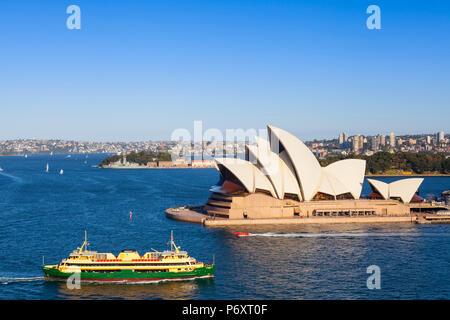 L'Opéra de Sydney, Darling Harbour, Sydney, New South Wales, Australia Banque D'Images
