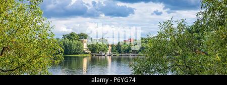 Holguin pond à Peterhof. Saint-pétersbourg, Russie Banque D'Images