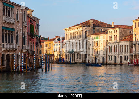 HGrand Canal, Venice Italie, prises au cours du printemps. Banque D'Images