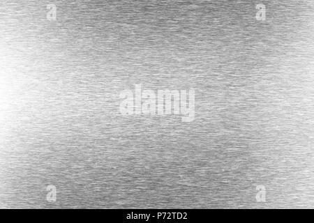La texture de l'acier inoxydable noir argent motif de fond texturé. Banque D'Images