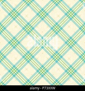 Tartan Diagonal inspiré de fond transparent vecteur 1 Banque D'Images