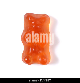 Gummy Bear on white