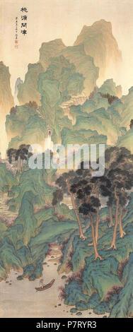 Anglais: Dowonmunjin par un Jung-sik: . 1913 21 Un Jung-sik-Dowonmunjin Banque D'Images