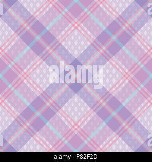 Tartan Pastel transparente motif 3 vecteur d'inspiration Banque D'Images