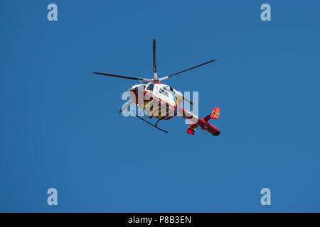 MD902 explorer cornwall air ambulance Banque D'Images