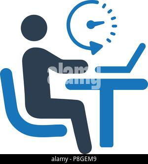 L'icône de bureau de travail