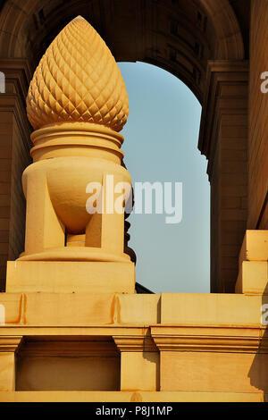 La porte de l'Inde, New Delhi, Inde Banque D'Images
