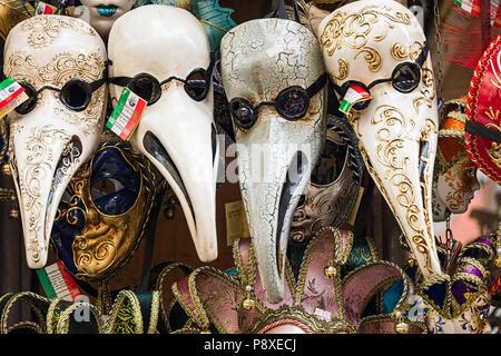 Masques de Venise Banque D'Images