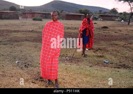 Masai Banque D'Images