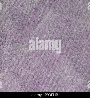 La texture en simili cuir violet côté chair. Square, Close up Banque D'Images