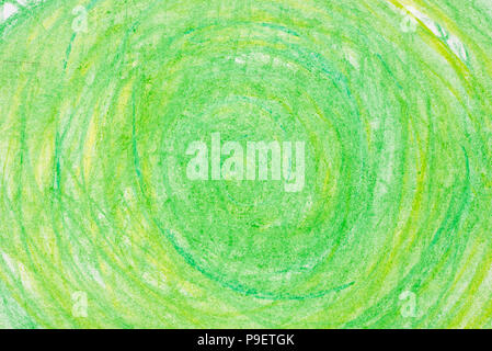 Les cercles de couleurs sur papier dessin texture bacground Banque D'Images