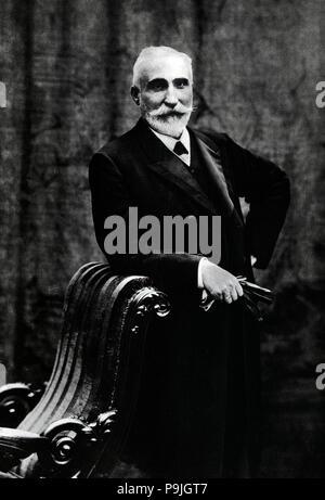 Antonio Maura y Montaner (Palma de Majorque, 1853-1925), Torrelodones, avocat espagnol et politique… Banque D'Images