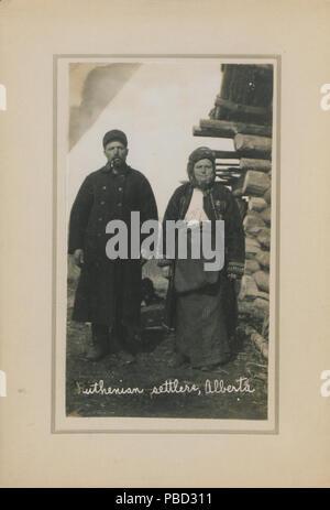 1279 colons Ruthènes, Alberta (HS85-10-23668) Banque D'Images