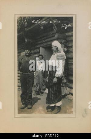 1279 colons Ruthènes, Alberta (HS85-10-23670) Banque D'Images