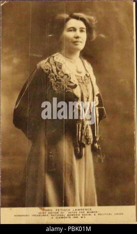 Emmeline Pethick Lawrence c.1907-1912 1184 Carte Postale Carte Postale Pethick Lawrence c.1907-1912