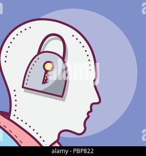 Les droits de l'esprit concept Banque D'Images