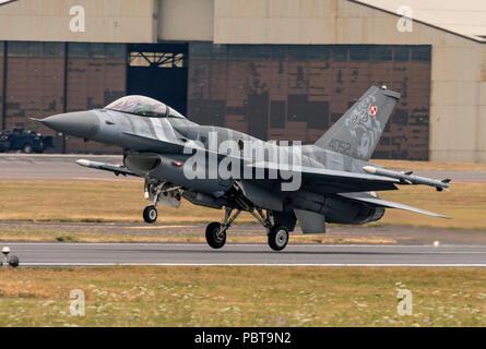 F-16C Fighting Falcon, armée de l'Air polonaise, Tigre,