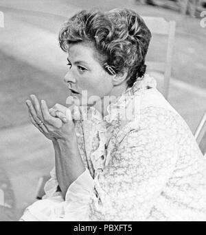 Ingrid Bergman. 1915-1982. L'actrice suédoise. Photographié ici lors du tournage de l'Anthology Film Stimulantia. Le film a été divisé en plusieurs parties différentes et Ingmar Bergman réalisé l'un d'entre eux.