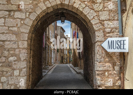Aups, Var, Provence, France Banque D'Images