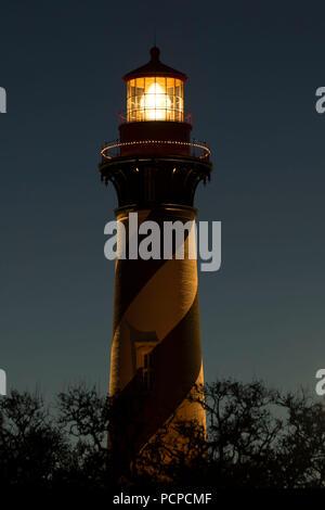 St Augustine St Augustine Lighthouse Lighthouse, et Museum, St Augustine, Floride Banque D'Images