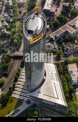 Deutsche Post World Net AC DPAG, la Tour de la poste à Bonn, siège de DHL, la Post Tower, Bonn, Rhénanie du Nord-Westphalie, Allemagne,