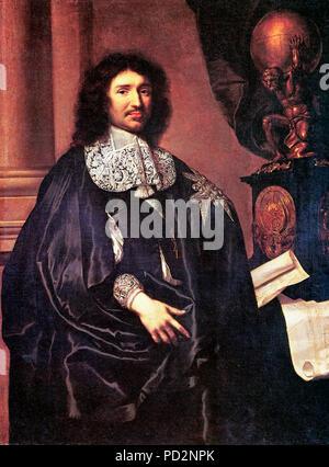 Portrait de Jean-Baptiste Colbert - Claude Lefà bvre, 1666¨ Banque D'Images