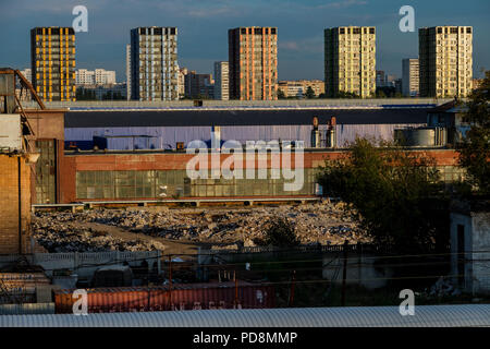 voitures zil moscou russie banque d'images, photo stock: 3362023 - alamy