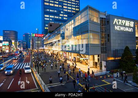 L'île de Honshu, Japon, Tokyo, Kanto, le quartier de Shinjuku.