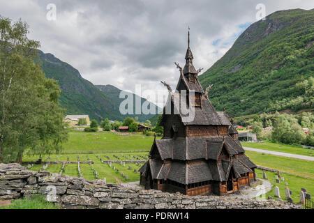 Borgund Stabkirche, Sogn og Fjordane, Norvège, Église Borgund, Sogn og Fjordane, Norvège