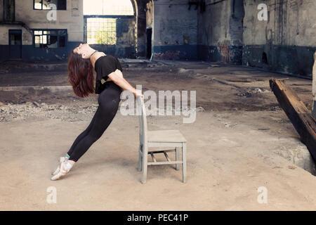 Toute la longueur du côté de ballerine ,Istanbul Banque D'Images