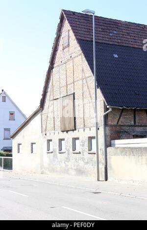 Décor d'une vieille rue typique allemand, Studio Babelsberg, Potsdam, Allemagne Banque D'Images ...