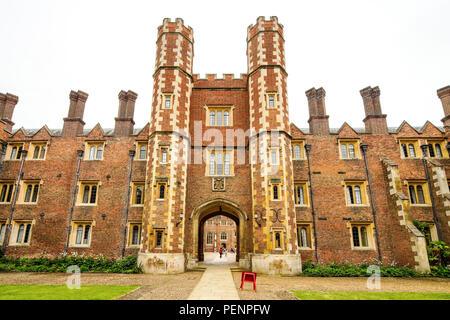 St John's College de Cambridge, Royaume-Uni Banque D'Images
