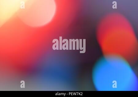 Abstract colorful bokeh background naturel reçu de la lumière de lampe sur disque CD avec des paillettes, defocused