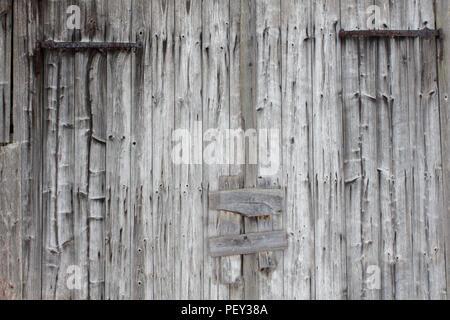 Old weathered barn blanchie sun et les planches de bois de la texture pour l'espace texte copyspace Banque D'Images