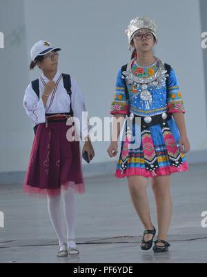 La société Shenyang Blower, la société Shenyang Blower, la Chine. 20e Août, 2018. Shenyang, Chine-cosplayeurs peut être vu à SKY International Animation Festival de musique et à Shenyang, Liaoning Province du nord-est de la Chine. Crédit: SIPA Asie/ZUMA/Alamy Fil Live News Banque D'Images