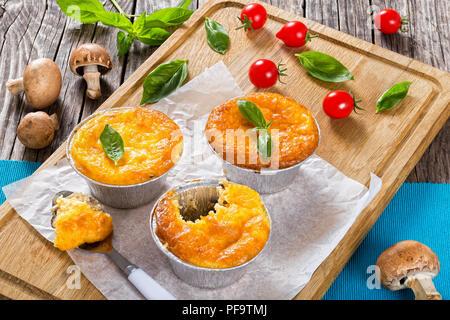 La Cuisine Francaise Julienne Mushroom Poulet Et Fromage