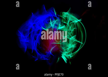 Cercle light painting