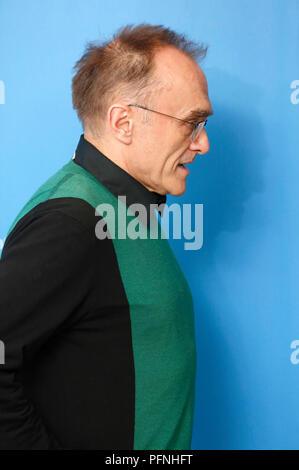 Berlin, Allemagne. 10 fév, 2017. Danny Boyle au cours de la 'T2' Trainspotting photocall au 67e Festival International du Film de Berlin/Berlinale 2017 le 10 février 2017 à Berlin, Allemagne. Utilisation dans le monde entier | Credit: dpa/Alamy Live News Banque D'Images