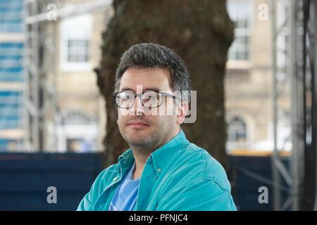 Edimbourg, Ecosse. UK. 21 août 2018. Edinburgh International Book Festival. Photo: Daniel Hahn . Édimbourg. Pako Mera/Alamy Live News.