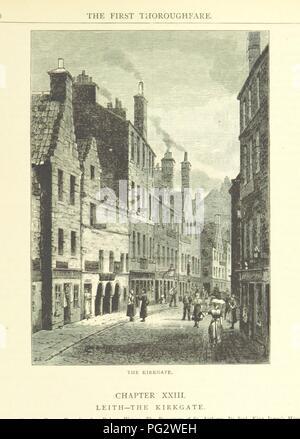 """Libre à partir de la page 243 de """"Cassell's Old et New Edinburgh ... Illustré, etc' . Banque D'Images"""