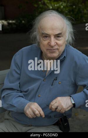 Berlin, DEU, 20.09.2012: Portrait de Norman Manea, écrivain et auteur (Roumanie / USA) Banque D'Images