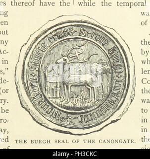 """Libre à partir de la page 23 de """"Cassell's Old et New Edinburgh . Illustré, etc' . Banque D'Images"""