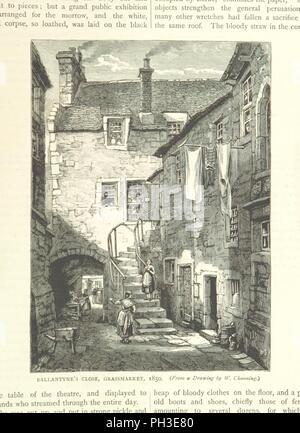 """Libre à partir de la page 265 de """"Cassell's Old et New Edinburgh . Illustré, etc' . Banque D'Images"""