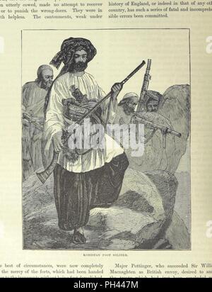 """Libre à partir de la page 408 de """"Cassell's Illustrated Histoire de la Guerre d' . Banque D'Images"""